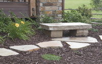 Stone Work by Carver Landscape