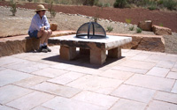 Stone Work by Carver Landscaping